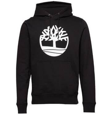 Timberland Core Logo PO Hoody in Schwarz für 39,95€ (statt 55€)