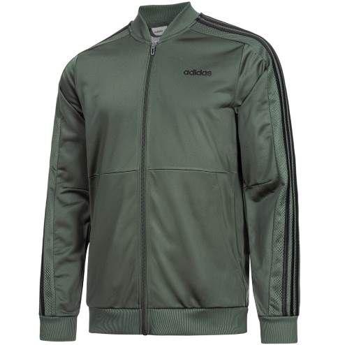 adidas Essentials Linear Trainingsjacke in Grün ab 29,99€ (statt 42€)