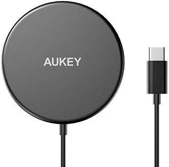 Aukey LC A1 15W Qi Ladegerät (MagSafe kompatibel) für 14,24€ (statt 19€)   Prime