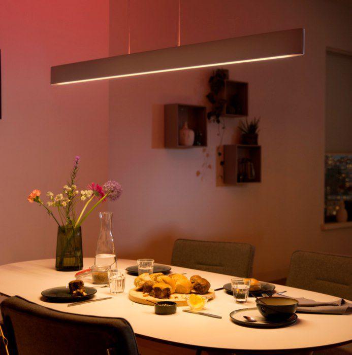Philips Hue Ensis Pendelleuchte in Weiß mit 6.000 Lumen für 299,99€ (statt 326€)