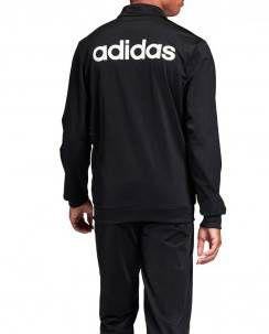 adidas Trainingsanzug MTS Basic in Schwarz für 29,95€ (statt 47€)