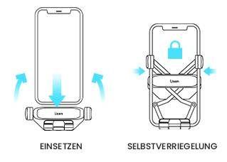 Automatische Kfz Handyhalterung für 6,29€ (statt 14€)   Prime
