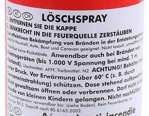 3x Olymp Feuerlöschspray auf Schaumbasis für 18,99€ (statt 26€)