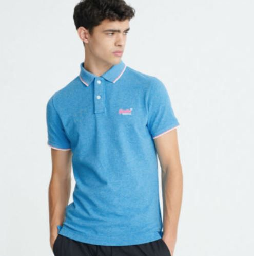 Superdry Poolside Herren Pikee Poloshirt Slim Fit für 19,95€ (statt 35€)