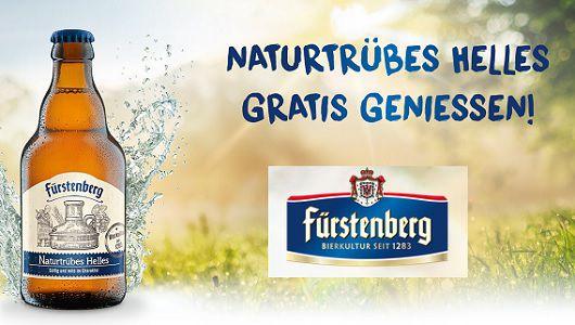 Fürstenberg Naturtrübes Helles gratis probieren