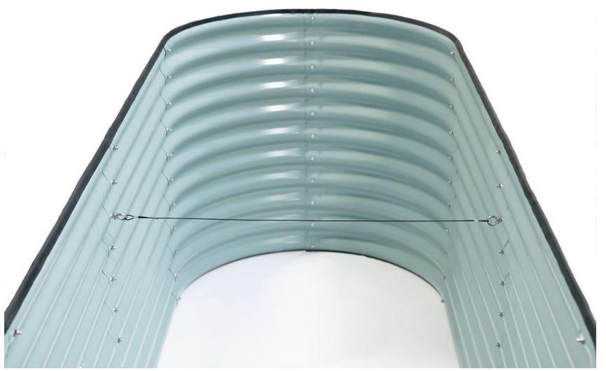 Westmann Metall Hochbeet (160x80x82cm) für 129,99€ (statt 159€)