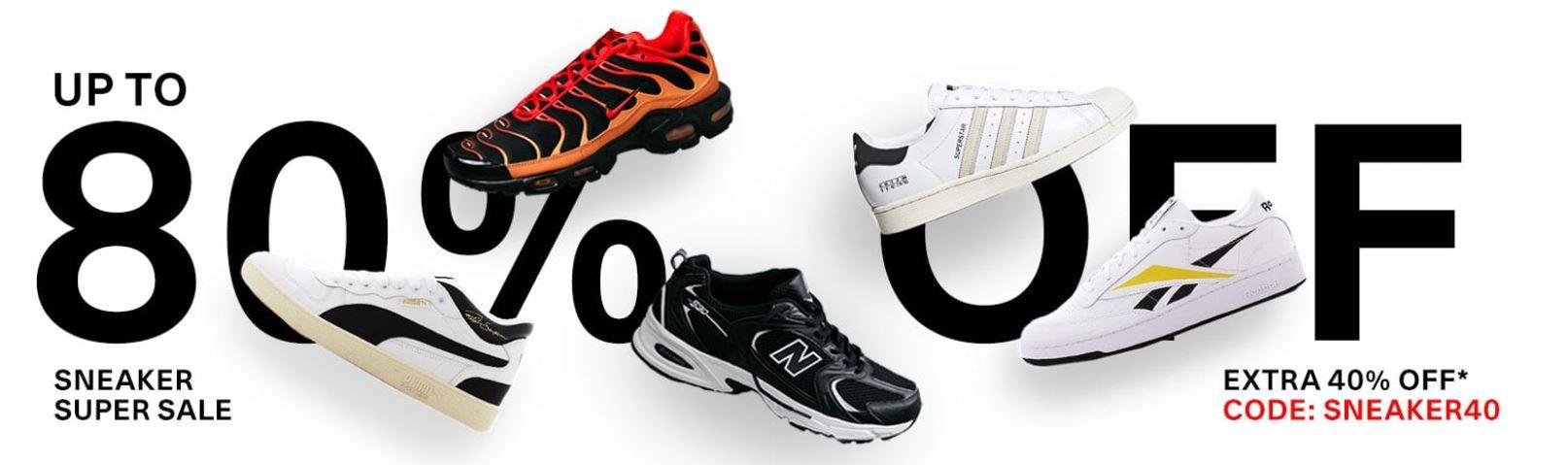 Kickz Sneaker Super Sale + 40% Extra Rabatt z.B. Converse Chuck 70OX für 26,99€ (statt 42€)