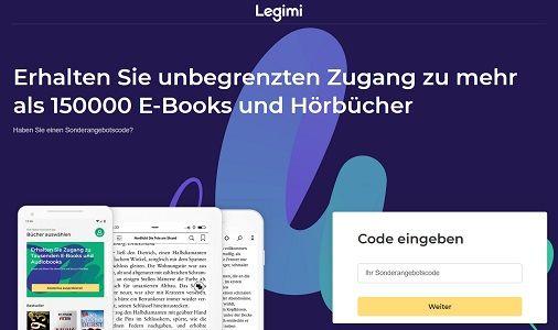 Legimi: 42 Tage gratis Zugriff auf ca. 150.000 Hörbücher & eBooks