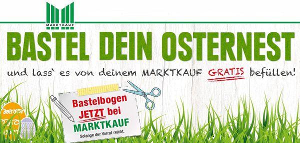 Marktkauf: kostenlose Osternestaktion
