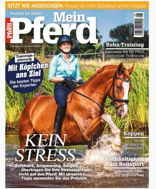 Mein Pferd Jahresabo (12 Ausgaben) für 68,40€ – Prämie: 40€ V-Scheck