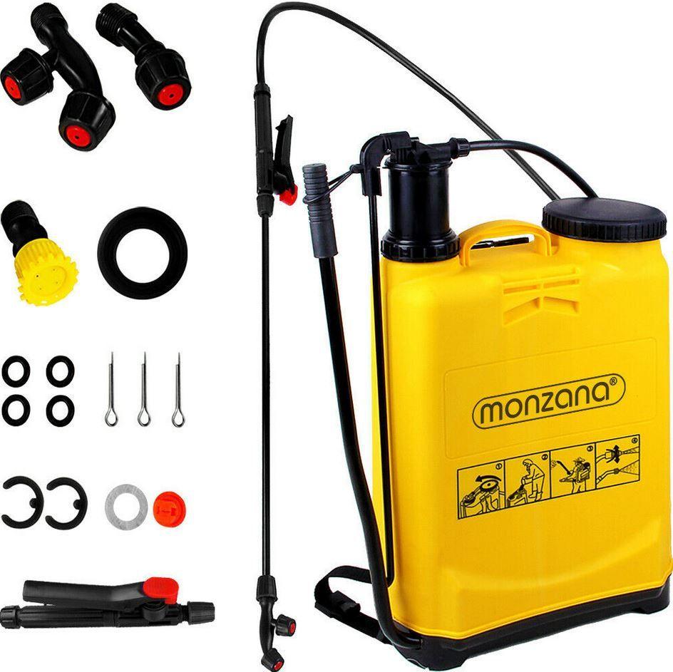 Monzana Rücken Drucksprüher 20 Liter mit Zubehör für 26,95€ (statt 35€)