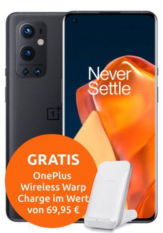 OnePlus 9 Pro 5G mit 128GB für 29€ + Vodafone Allnet Flat mit 40GB LTE/5G für 44,99€mtl.
