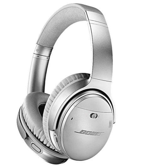 Bose Quietcomfort 35 II wireless Over-Ear Kopfhörer in Silber für 167,99€ (statt 197€)