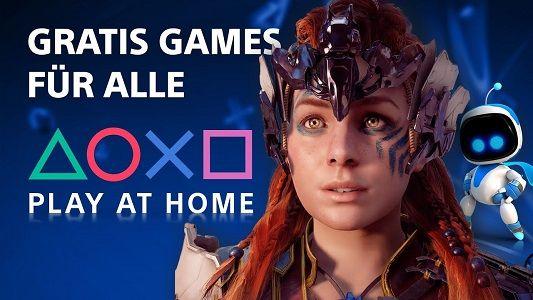 Play@Home: 10 kostenlose Indie Spiele und PS VR Spiele abholen