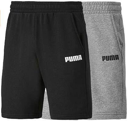Puma Shorts Essentials Jersey in Grau oder Schwarz für je 11,96€ (statt 16€)