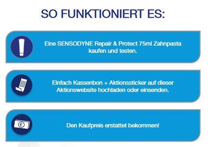 Sensodyne Repair & Protect gratis ausprobieren
