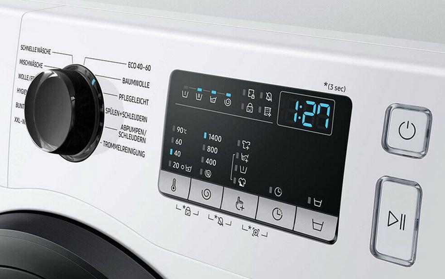 Samsung WW81T4543AE Steam Waschmaschine für 8kg max. 1.400Umin für 399€ (statt 499€)