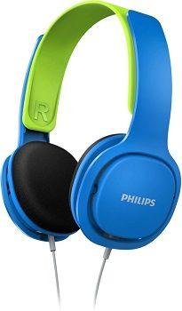 PHILIPS SHK2000BL On ear Kopfhörer in Blau/Grün für 9€ (statt 23€)