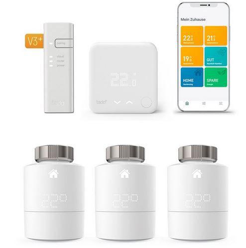 Tink Smart Week – z.B. tado Smart Heizkörper-Thermostat Starter Kit V3 + Funk-Temperatursensor für 239,95€ (statt 273€)