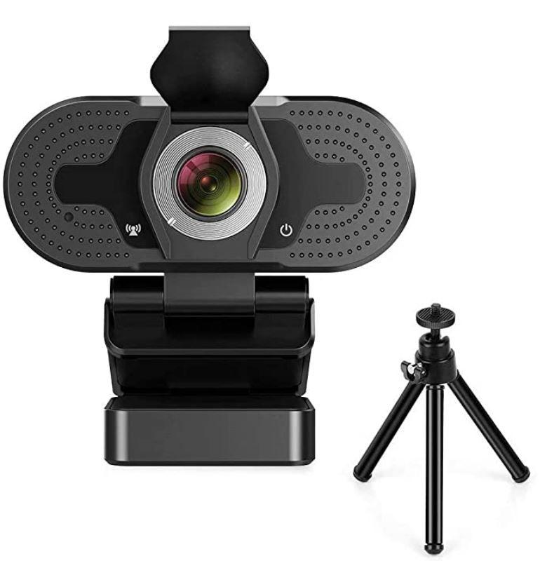 TROPRO Webcam mit Mikrofon FullHD für 12,49€ (statt 25€)