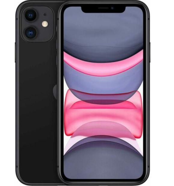 Apple iPhone 11 128GB in Schwarz für 599€ (statt 649€)