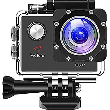 Victure AC400 – 1080p ActionCam mit WIFI & viel Zubehör für 20,79€ (statt 26€) – Prime
