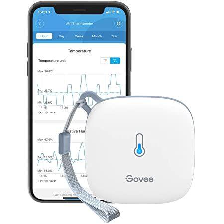 Govee WLAN Hygro  & Thermometer mit App Anbindung für 20,99€ (statt 30€)