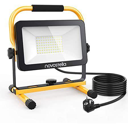 Novostella LED Baustrahler mit 60W & 5m Kabel für 34,29€ (statt 49€)