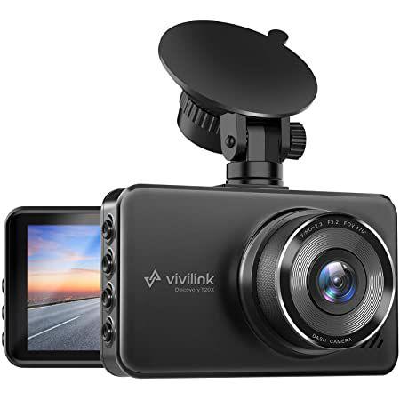 ViviLink T20X 2,5K Dashcam mit 170° Weitwinkel & G Sensor für 34,99€ (statt 50€)
