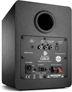 wavemaster CUBE MINI NEO   Regallautsprecher System mit 36 Watt für 78,20€ (statt 90€)
