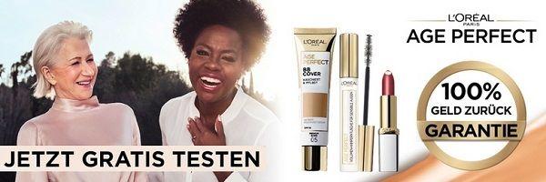 Age Perfect Make Up von LORÉAL gratis ausprobieren