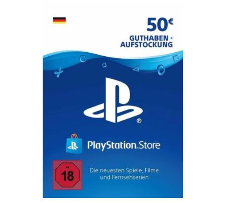 75€ PlayStation Store Guthaben für 57,75€