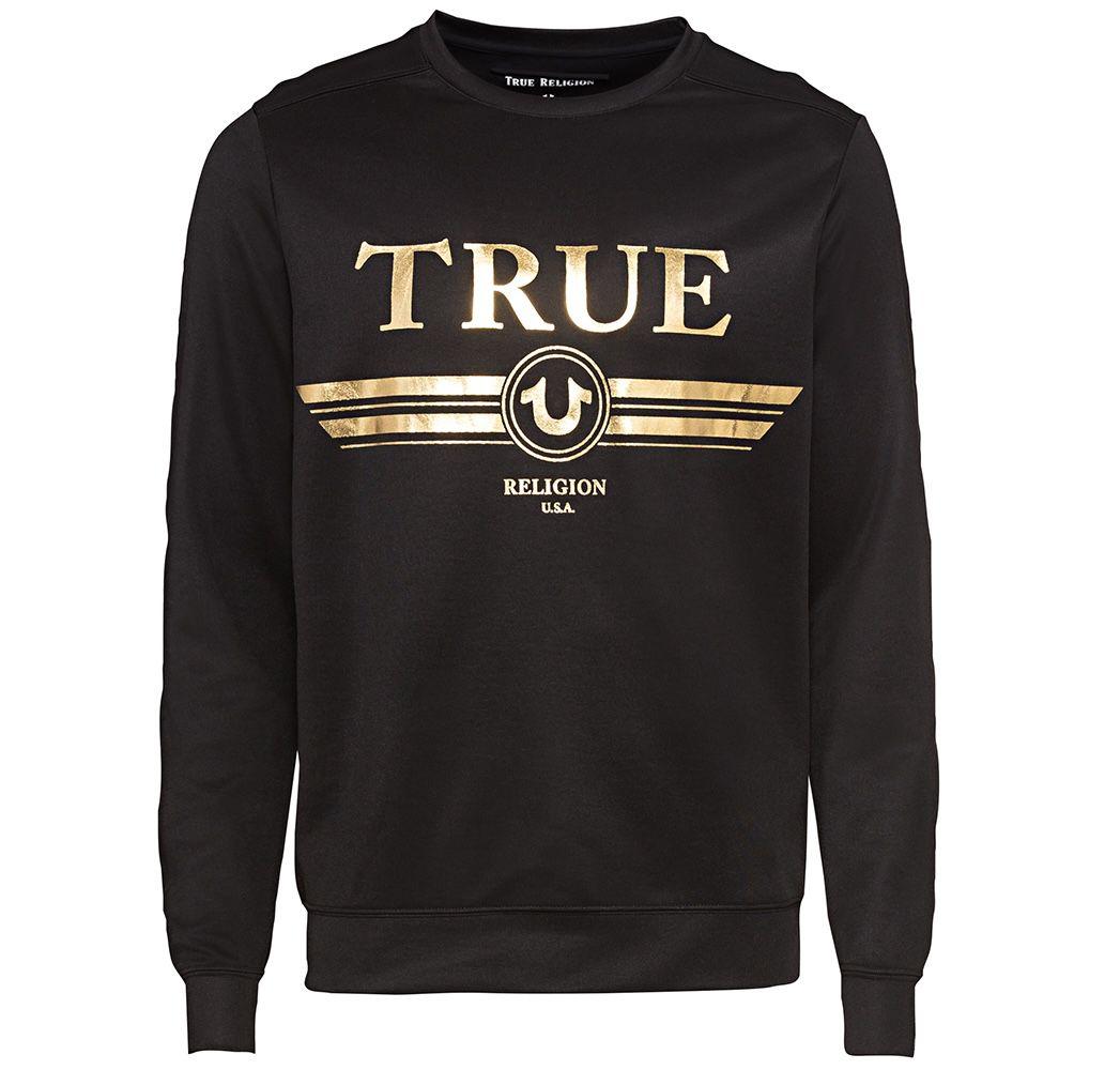 True Religion Mega-Sale bis -80% + 10% Gutschein – z.B. Crew Neck Sweatshirt für 31,49€ (statt 59€)