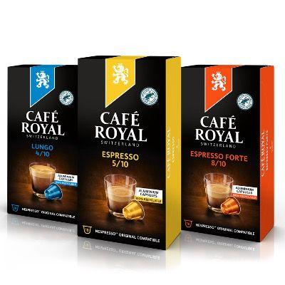 Café Royal mit 30% Rabatt auf alle Kapseln kompatibel mit Nespresso