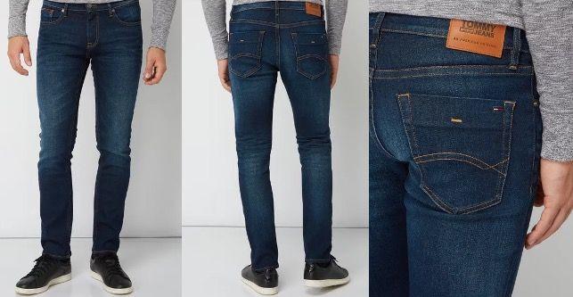 Tommy Hilfiger Herren Jeans 5 Pocket Stone Washed Slim Fit für 39,99€ (statt 80€)