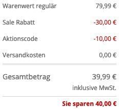 Alpha Industries 3D Herren Hoodie in zwei Farben für 39,99€ (statt 80€)