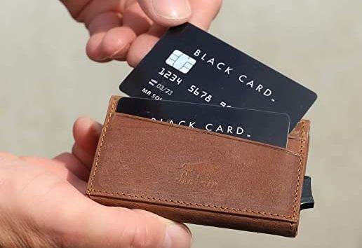 Solo Pelle Leder Kartenetui mit RFID Schutz bis zu 11 Karten für 19,90€ (statt 34€)