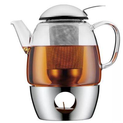 WMF SmarTea Teekannen Set mit Kanne, Sieb & Stövchen für 49,94€ (statt 74€)
