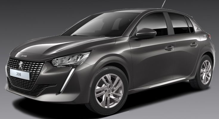 Privat: Peugeot 208 Active Pack in Grau mit 75 PS für 95€mtl.   LF: 0.50