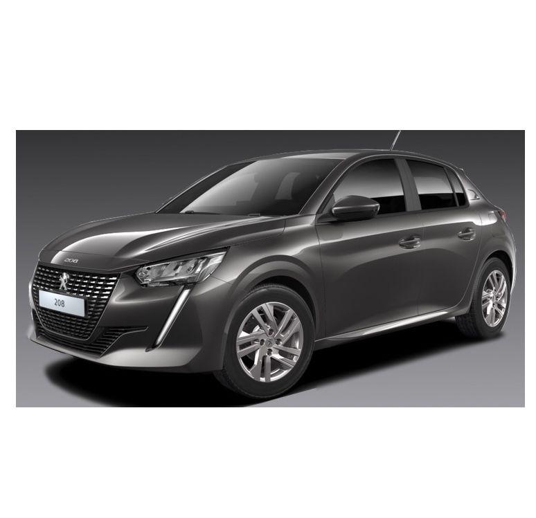 Privat: Peugeot 208 Active Pack in Grau mit 75 PS für 95€mtl. – LF: 0.50