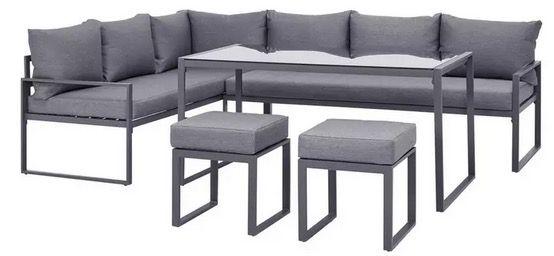 Modern Living Loungegarnitur Mexico in Anthrazit für 419,30€ (statt 599€)   bei Abholung