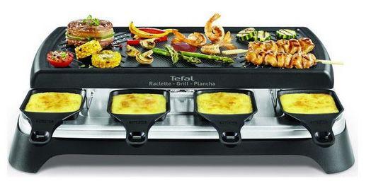Tefal Gourmet 8 Smart Raclette & Grill Plancha für 55,90€ (statt 80€)