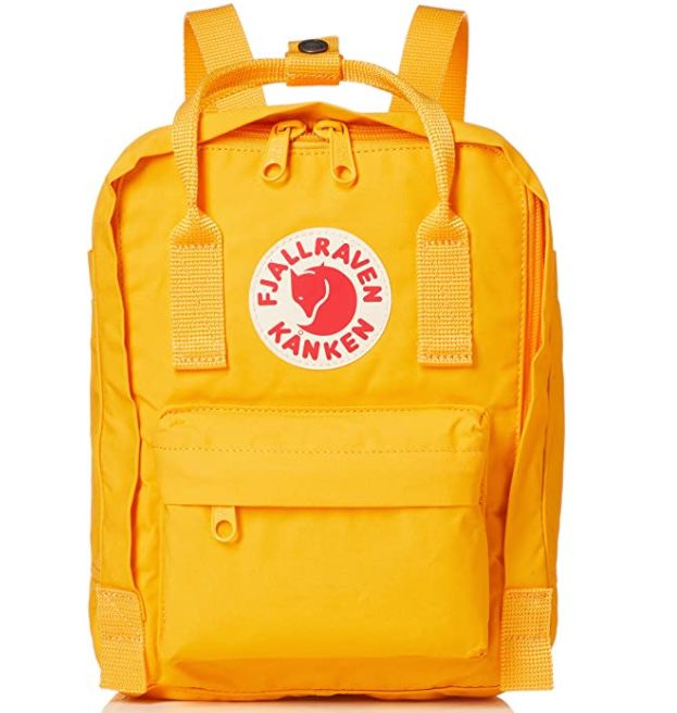 Fjällräven Kånken Mini Backpack in Warm Yellow für 39,85€(statt 60€)