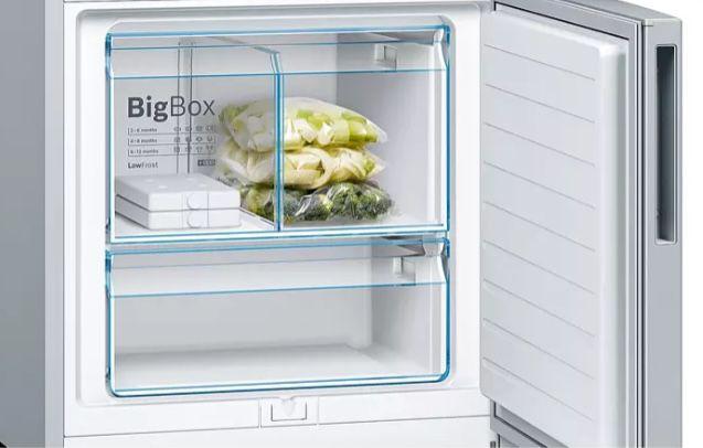Bosch KGE584ICP Kühl Gefrierkombi mit LowFrost für 489€ (statt 699€) + 90€ Eismann Gutschein gratis