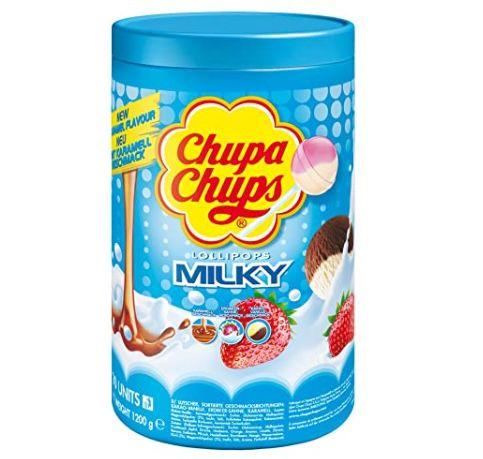 100er Pack Chupa Chups Milky Lutscher ab 8,99€ – Prime