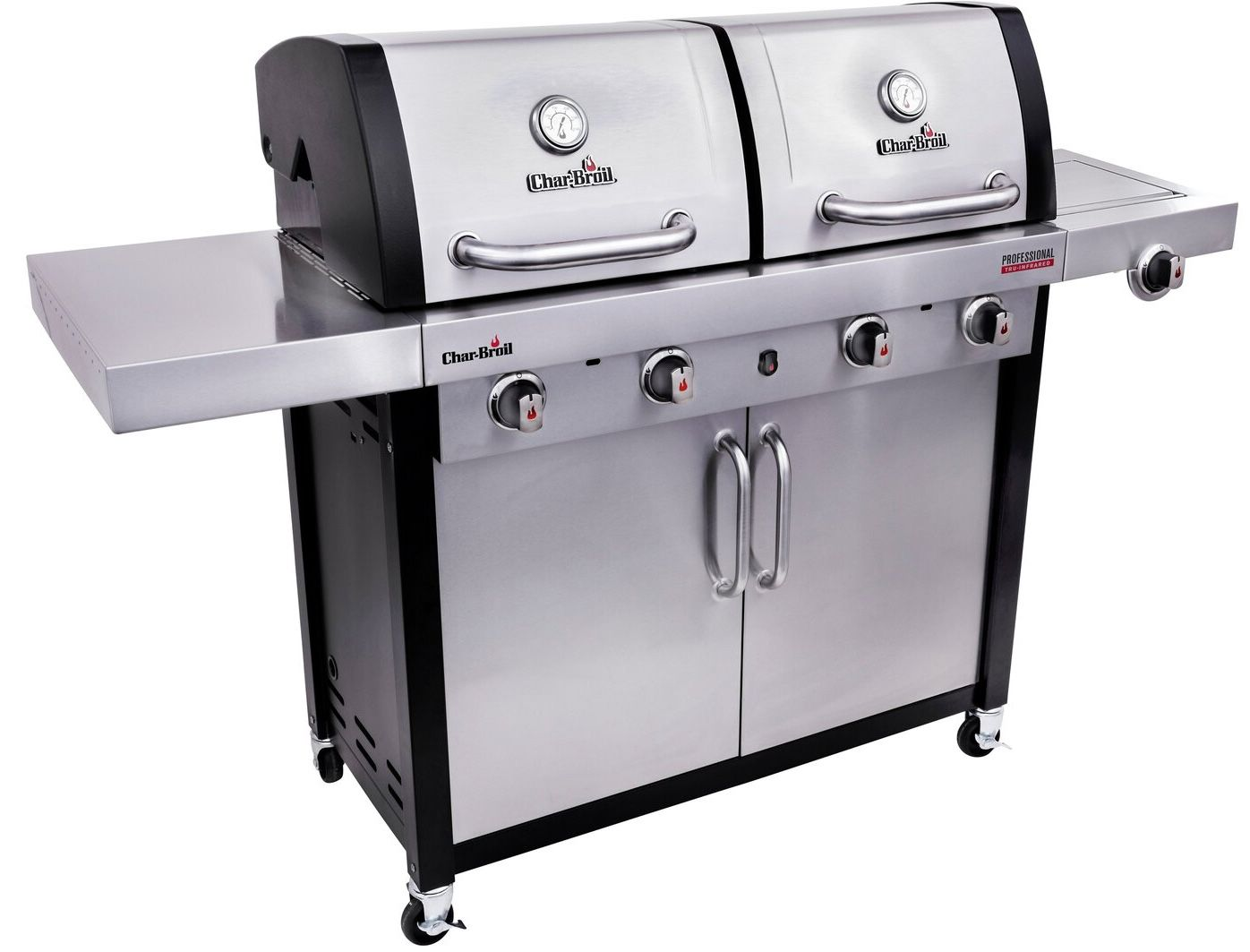 🔥 Schnell? Char-Broil Professional 4600 S Gasgrill mit 2 getrennte Brennkammern ab 649€ (statt 989€)