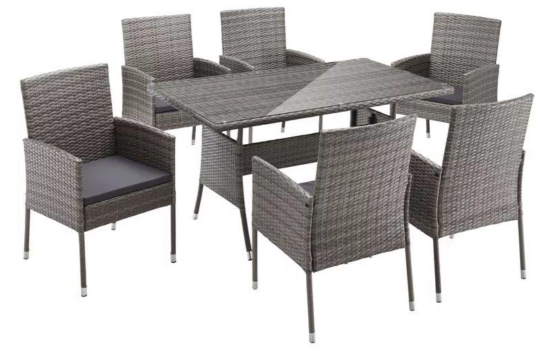Merxx Gartenmöbelset Costa Rica für 297,49€ (statt 349€)