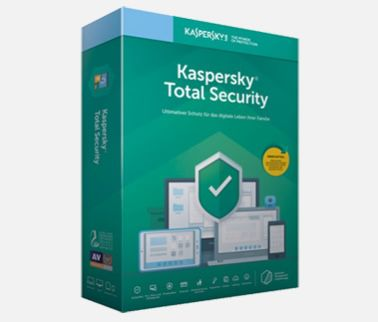 Kaspersky Total Security inkl. VPN für 6 Monate GRATIS (statt 12€)