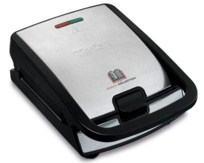 Tefal Snack Collection SW853D12 Multi Kontaktgrill mit Waffeleinsatz für 59,99€(statt 79€)