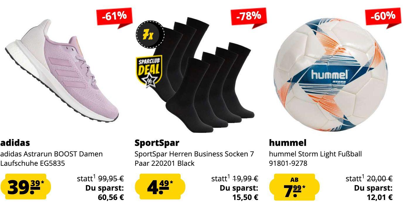 SportSpar HOT DEALS: z.B. HerrenLederschuhe Clarks Bensley Cap Casual ab 37,99€